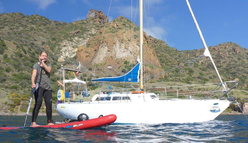 морской путешествие Липари