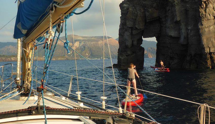 Липари экскурсия на лодке -