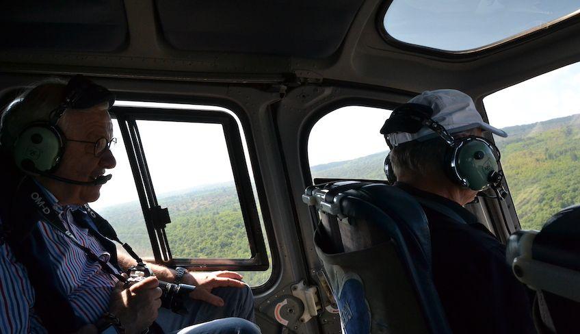 Вертолетная экскурсия в Стромболи -