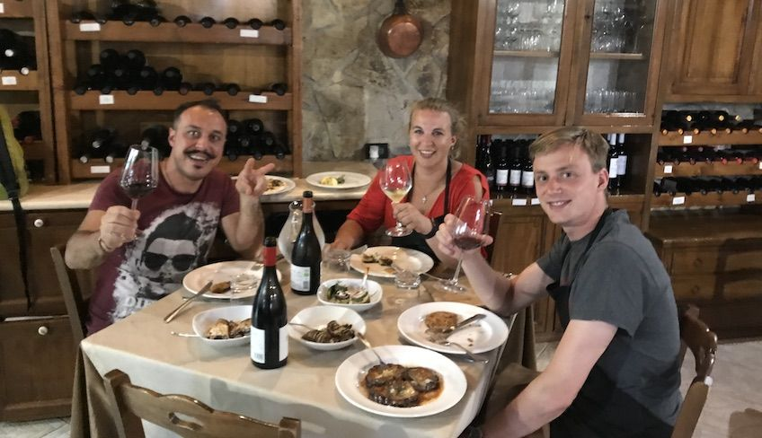 Урок кулинарии в Палермо -