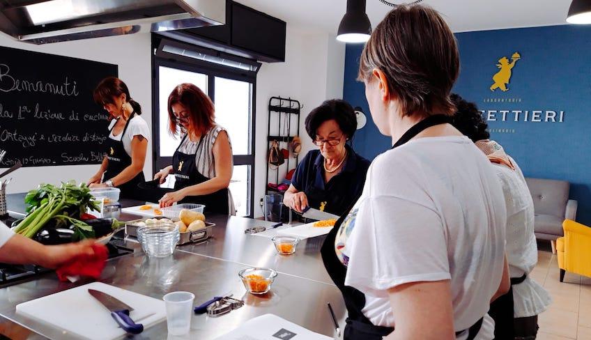 Урок кулинарии Катания