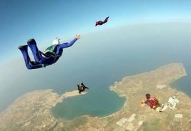 парашют - спортивная школа Сицилия