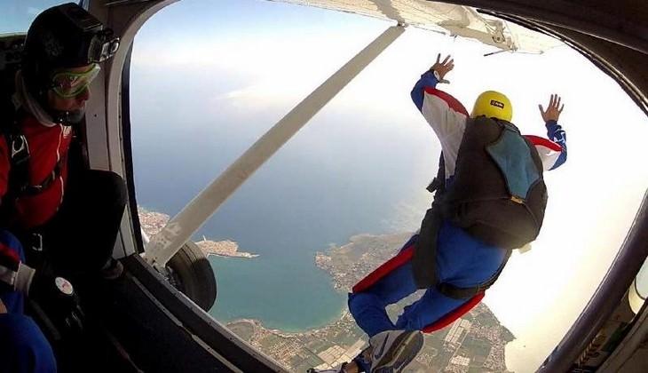 парашют сицилия - экстремальный спорт сицилия