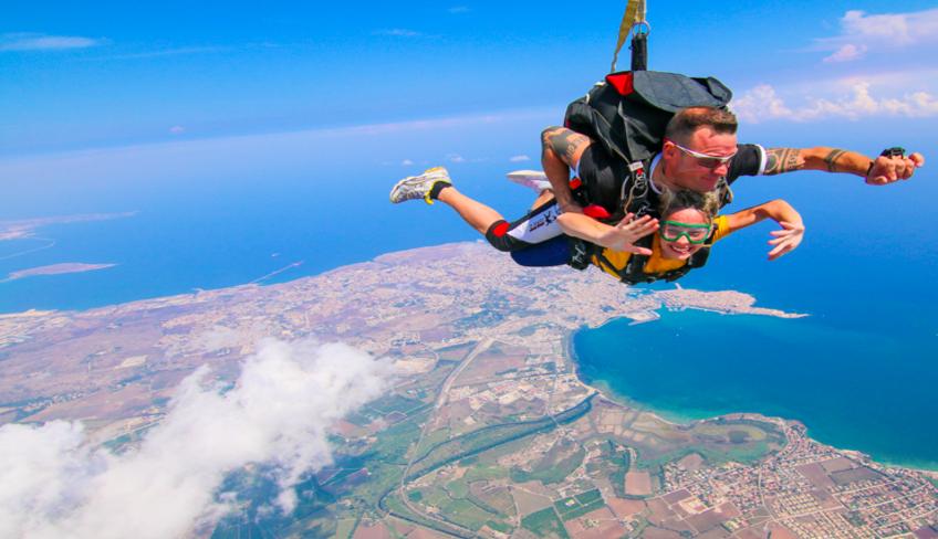 сицилия зона выброски школа спорт Сицилия Сицилия предложения спорт парашют