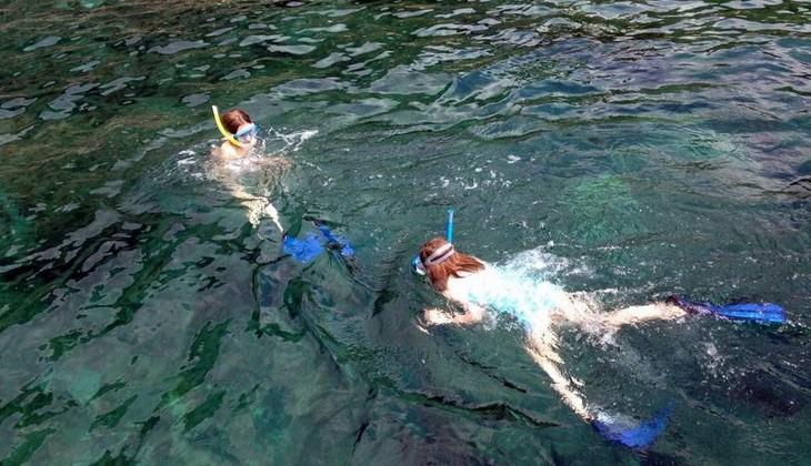 сноркелинг сицилия море сицилии подводные погружения Таормина