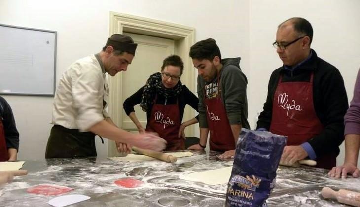 Кулинарные занятия на Сицилии - миндальное печенье Сицилия