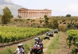квадроцикл сицилия спорт тренировка сицилия посещение археологических достопримечательностей сицилия Седжеста