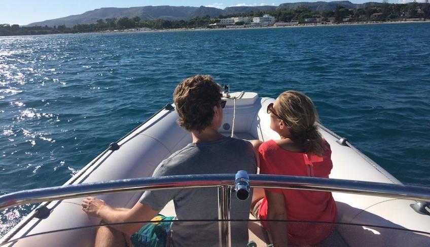 Сицилия походы лодка - пляжи