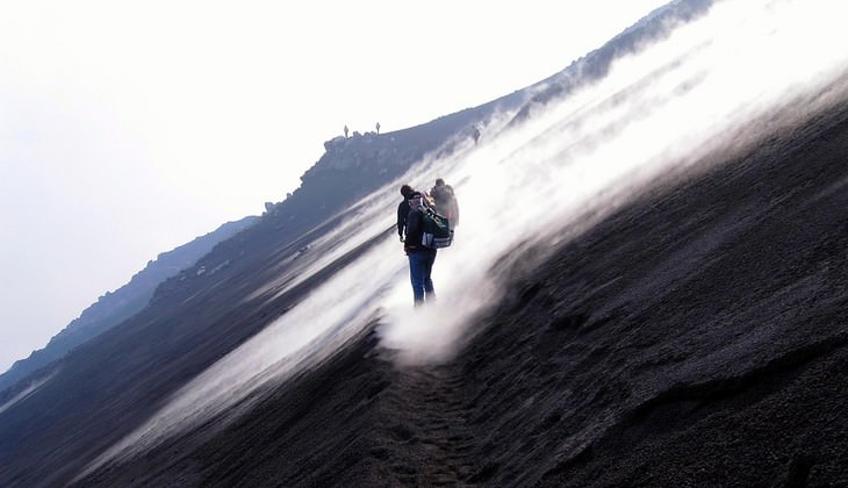 этна трекинг вулканы Сицилии отдых природа Этна