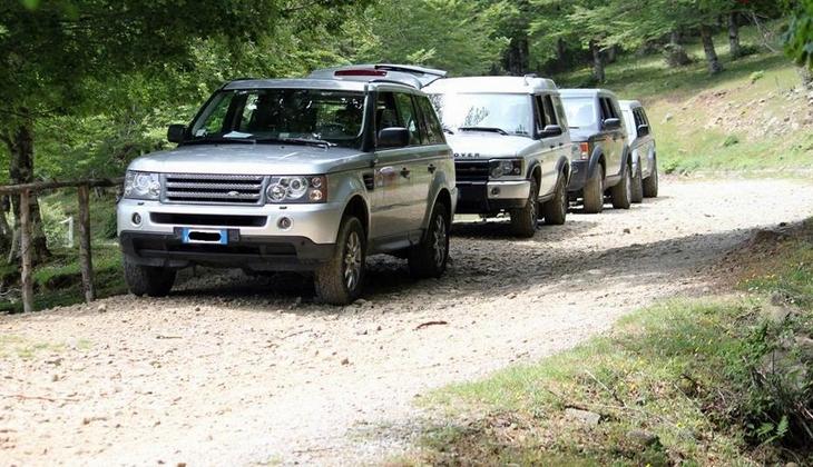 Тур на джипе активный отдых на Сицилии аренда машины горы