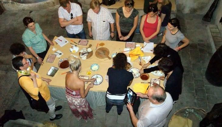 сицилийская еда и вино  - сицилия кулинарные туры
