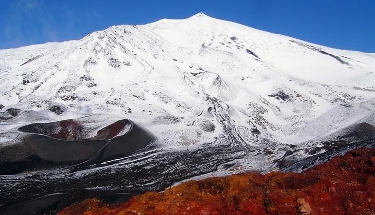 трекинг вулкан - вулкан сицилия термы