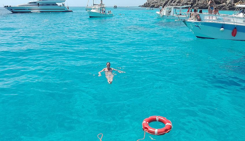 круиз на Эгади - сицилийские пляжи
