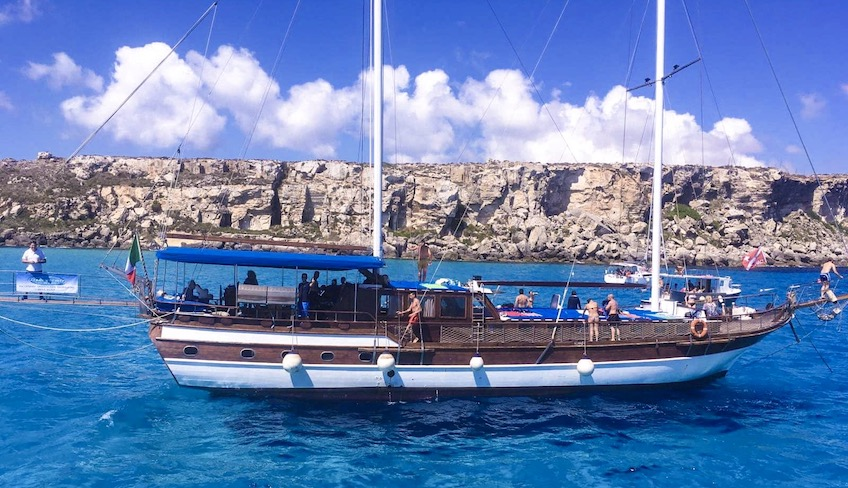 морские экскурсии Отдых на Сицилии – Сноркелинг Сицилия