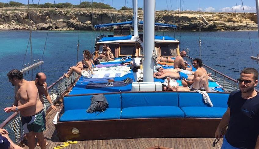 Сноркелинг Сицилия - экскурсия по морю
