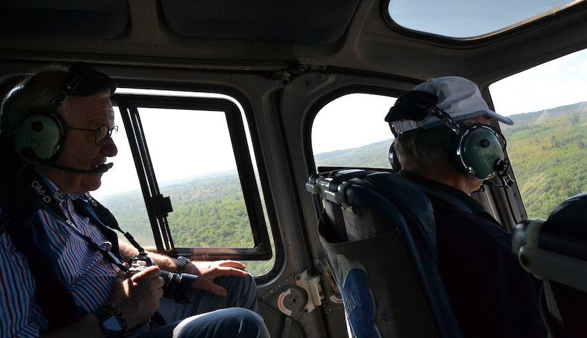 тур на вертолете - школа спорт сицилия