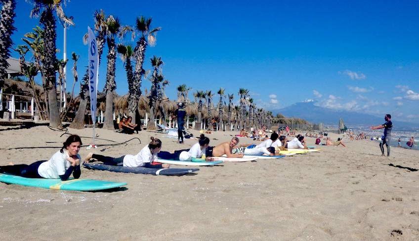 курс серфинга сицилия - водный спорт сицилия