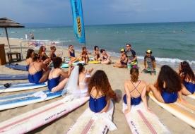 центр серфинг сицилия аренда парусной доски виндсерфинг спорт сицилия Катания