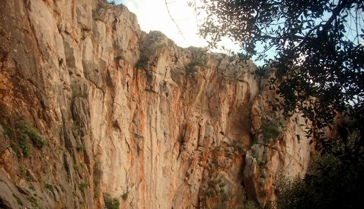 скалолазание сицилия - сицилия места для скалолазания