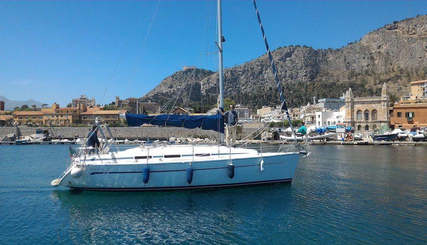 Пеший туризм Палермо - Плаванье на лодке