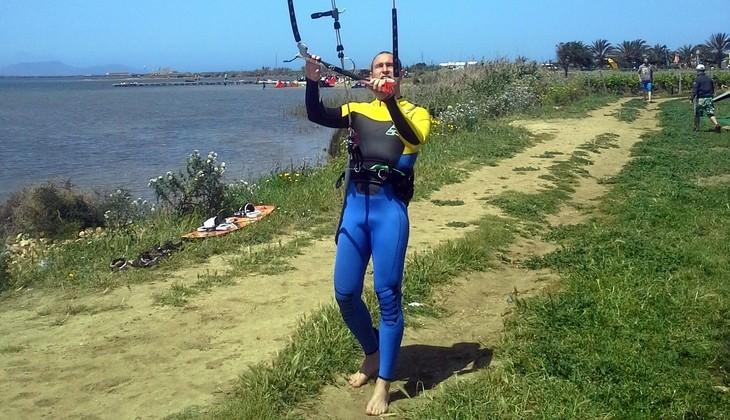 занятия по кайтсерфингу - инструктор по кайтсерфингу