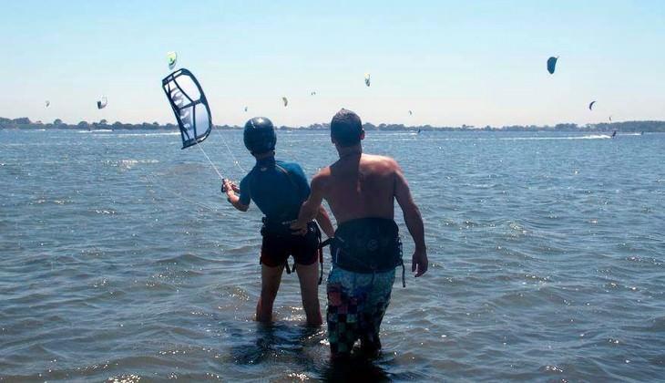 обучение кайтсерфингу - обучение виндсерфингу