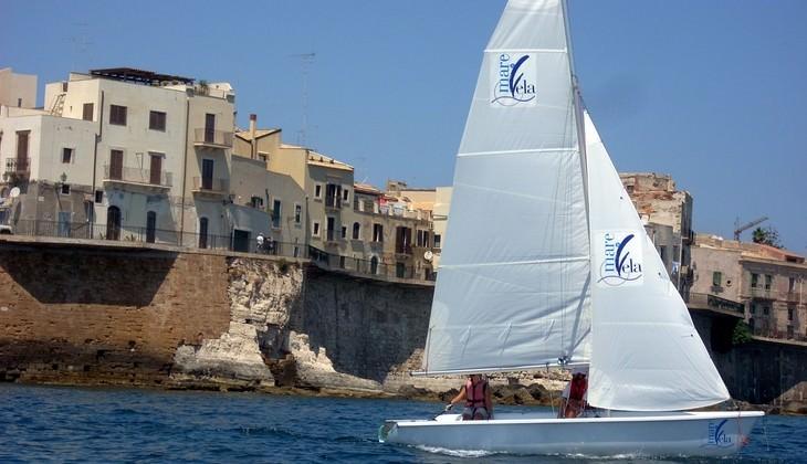 курс мореплавания динги  - мореплавание для новичков
