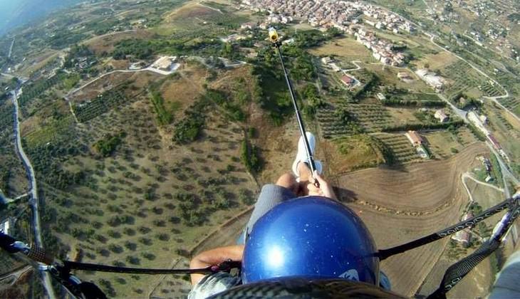 полет на параплане - параплан в тандеме