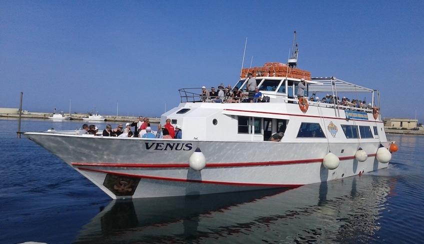 однодневный морской круиз острова эгади марсала