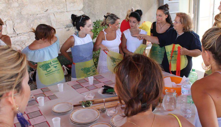 Уроки кулинарии на Сицилии -