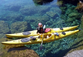 морской каякинг экскурсия с гидом липарские острова