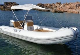 парусная надувная лодка - лодочные экскурсии таормина