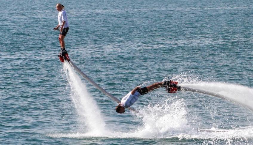 флайборд - экстремальный водный спорт