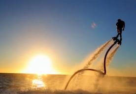флайборд над водой джардини наксос