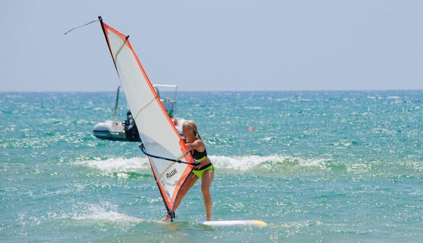 Спорт и Приключения Отдых на Сицилии - Виндсерфинг Рагуза