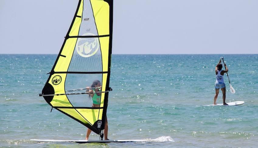 Виндсерфинг Рагуза - морской спорт