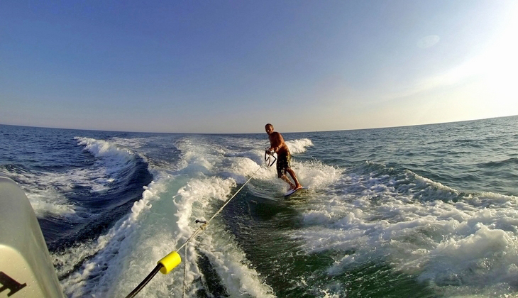 Спорт и Приключения Отдых на Сицилии - Вейкборд