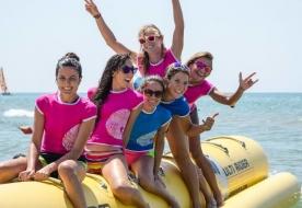спорт и приключения отдых на сицилии - лодка банан