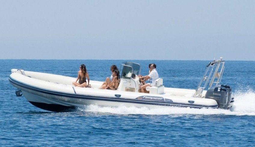 аренда лодки Марсала - выходные на лодке