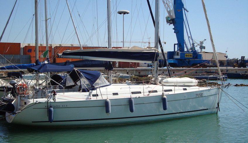 Эгадские острова Сицилия - Эгадские острова Сицилия на парусной лодке