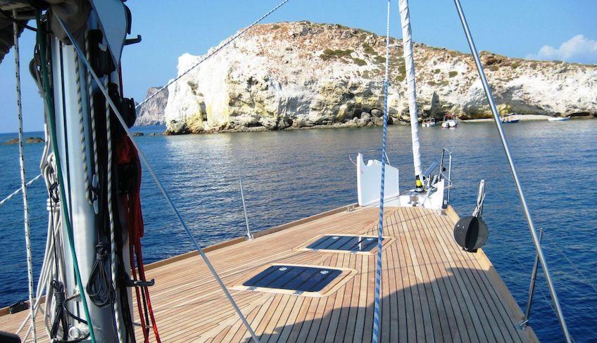 отпуск в море - плавание на Сицилии