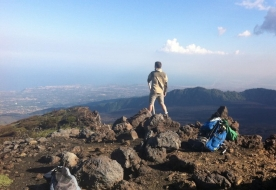 подняться на вулкан - вулканы Сицилии
