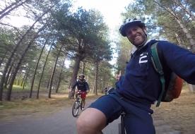 Avventure in mountain bike sull'Etna