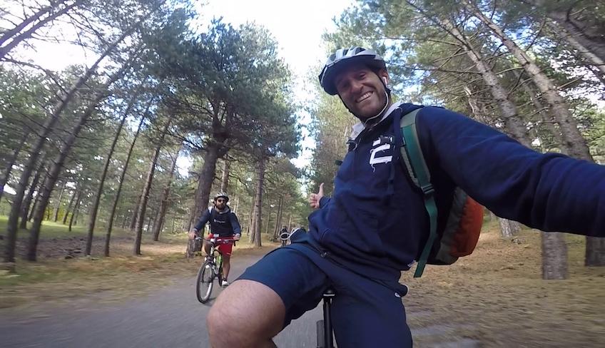 Сицилия на велосипеде велоспорт Сицилия