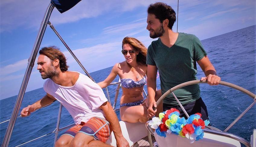 аперитив идеи - плавание приключения