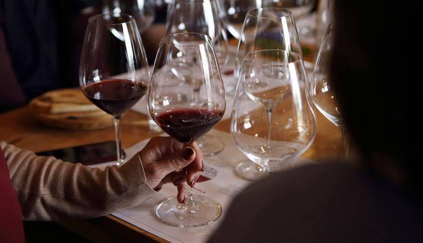 дегустация вин на винодельне -