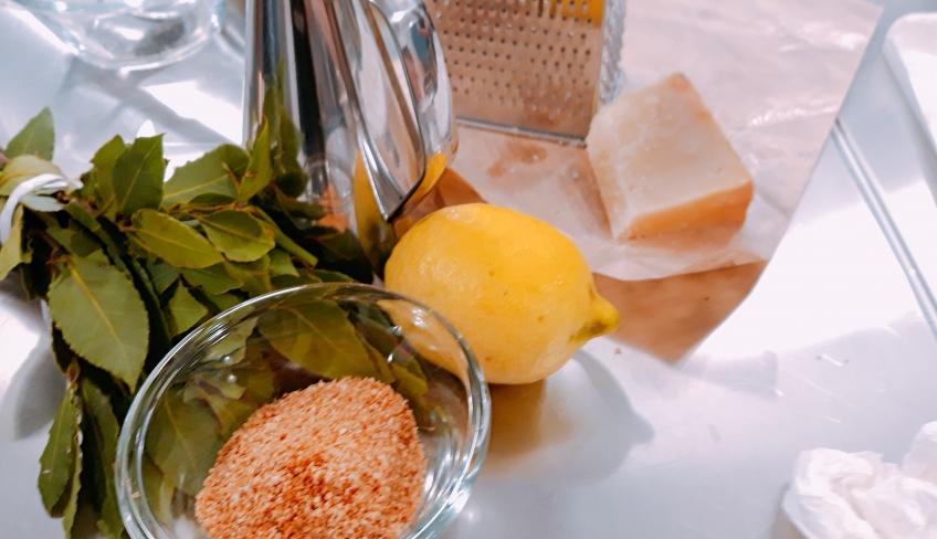 Ingredienti per arancini