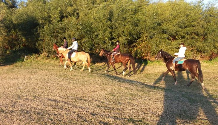 верховая езда на сицилии -