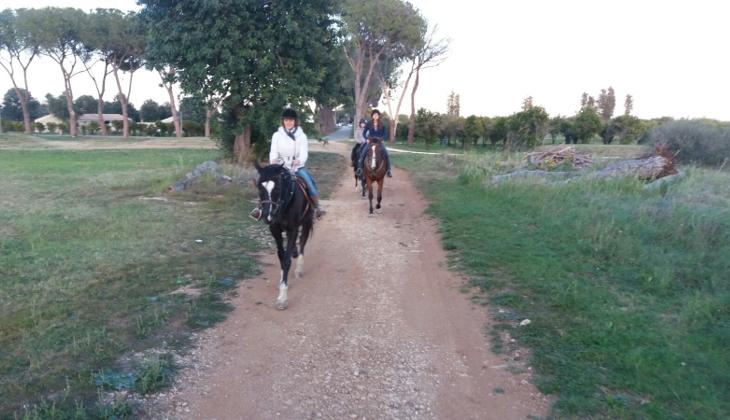 Прогулка на лошадях Сицилия
