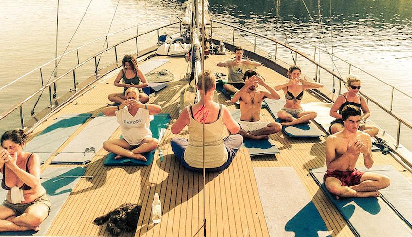 Спа и Оздоровление отдых на Сицилии - Отдых йога